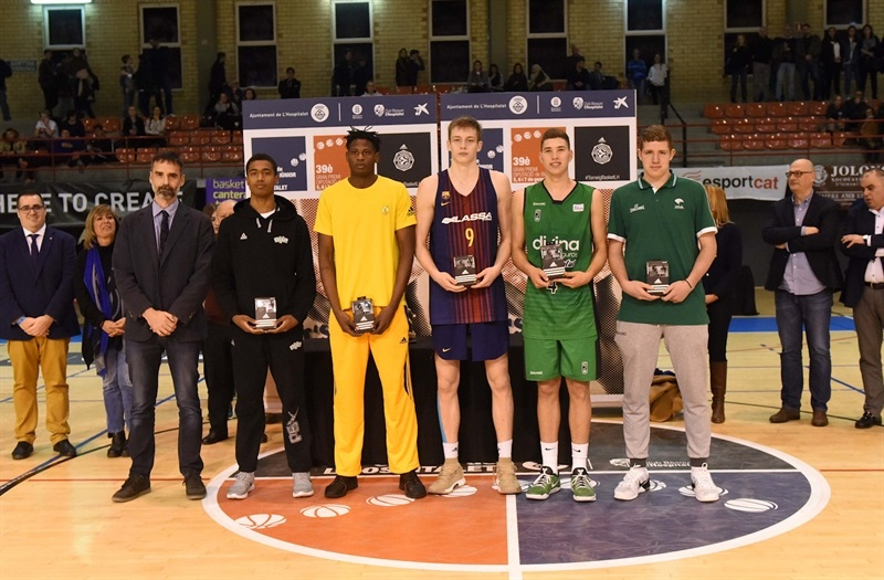 All Tournament team ANGT Hospitalet 2018 (photo Paco Largo) - JT17