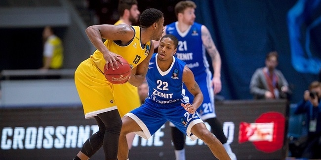7DAYS EuroCup, Top 16, Round 2: Zenit St Petersburg vs. Fiat Turin