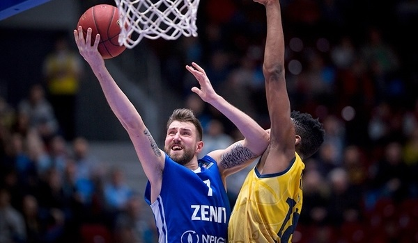 Top 16, Round 2: Red-hot Kuric drives Zenit past Fiat