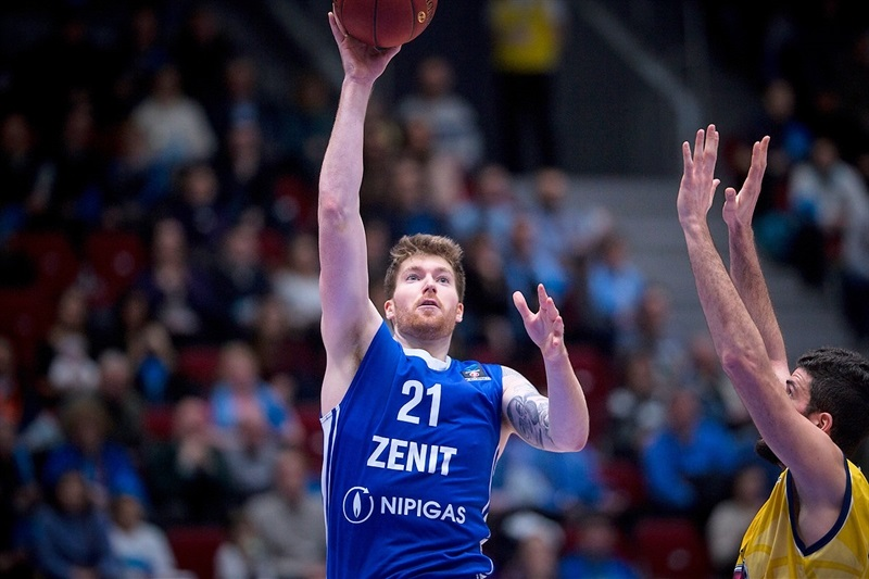 Shayne Whittington - Zenit St Petersburg (Photo Zenit) - EC17