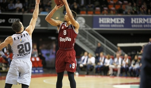 Top 16, Round 2: Cunningham, Booker lead Bayern over Rytas