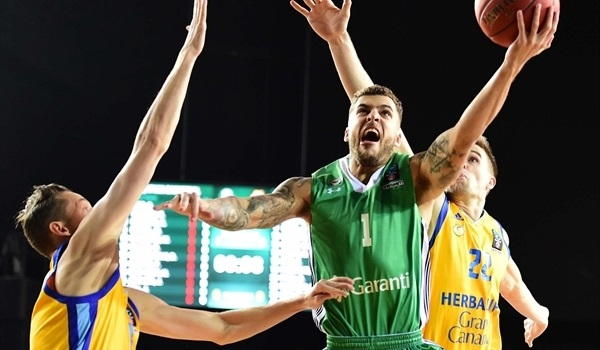 Top 16, Round 2: Darussafaka downs Gran Canaria to top Group E