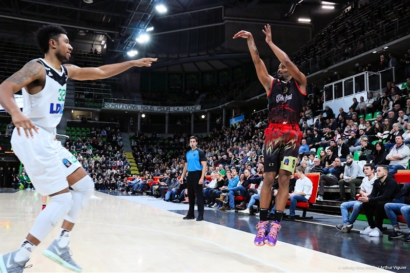 James White - Grissin Bon Reggio Emilia (photo Asvel - infinity Nine Media - Arthur Viguier) - EC17