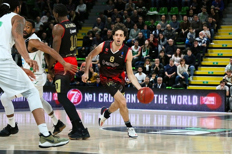 Amedeo Della Valle  - Grissin Bon Reggio Emilia (photo Asvel - infinity Nine Media - Arthur Viguier) - EC17