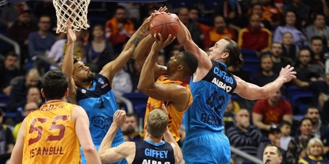 7DAYS EuroCup, Top 16, Round 2: ALBA Berlin vs. Galatasaray Odeabank Istanbul
