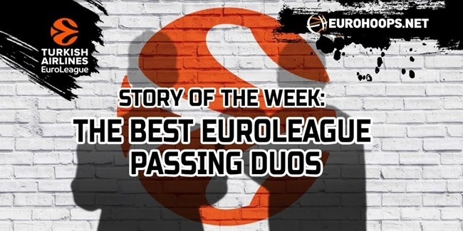 The List: The Best EuroLeague passing duos!