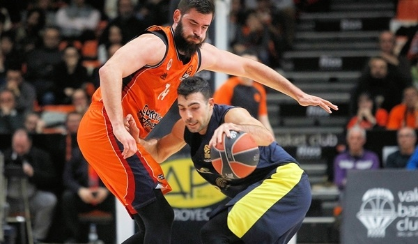 RS Round 17 report: Sloukas orchestrates Fenerbahce comeback in Valencia