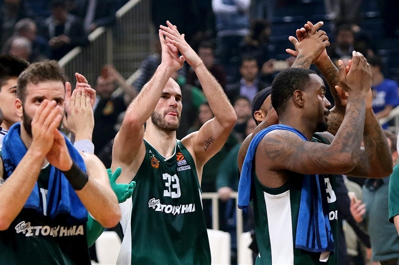 Panathinaikos Superfoods Athens celebrates - EB17