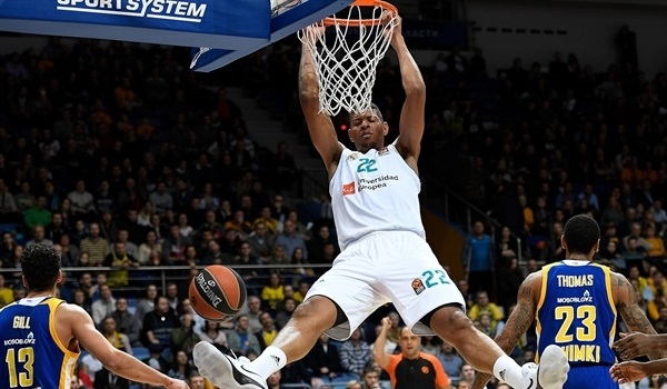RS Round 17 report: Madrid storms past Khimki, 78-95