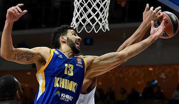 Khimki re-signs power forward Gill
