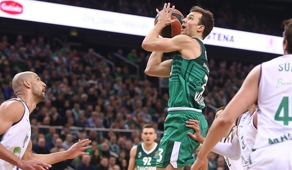 RS Round 17 report: Zalgiris downs Unicaja in nail-biter