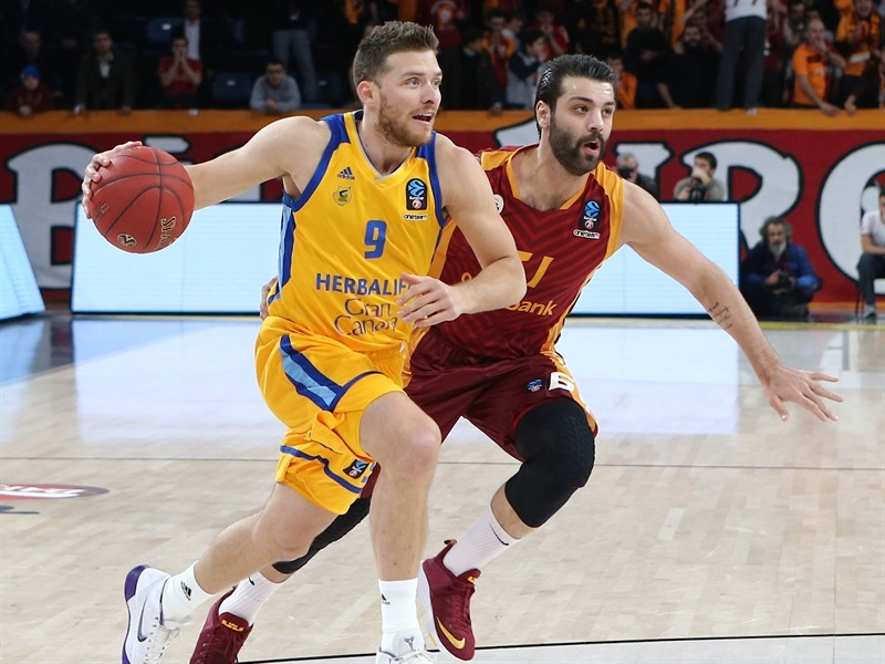 Gal Mekel - Herbalife Gran Canaria (photo Galatasaray) - EC17