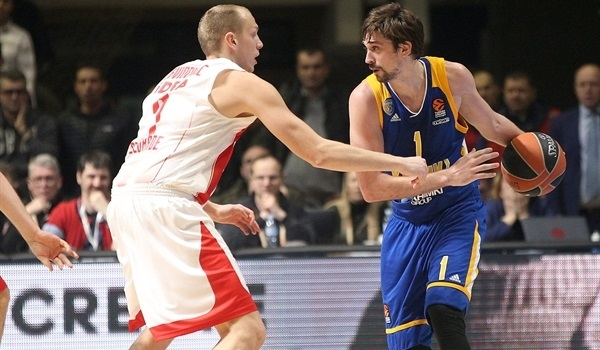 RS Round 18 report: Shved soars, Khimki rolls in Belgrade