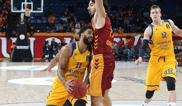 Top 16, Round 3: Gran Canaria uses shooting display to crush Galatasaray