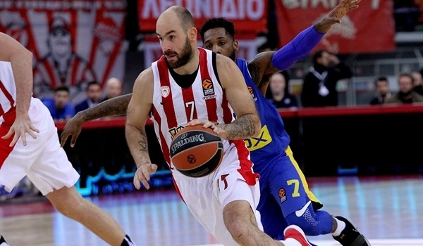RS Round 18 report: Olympiacos routs Maccabi for biggest win in 7 seasons
