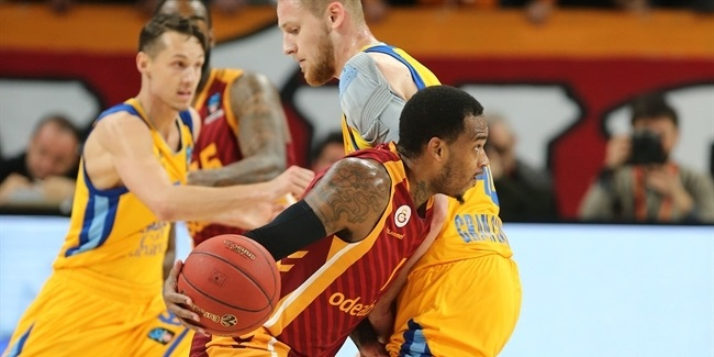 7DAYS EuroCup, Top 16, Round 3: Galatasaray Odeabank Istanbul vs. Herbalife Gran Canaria