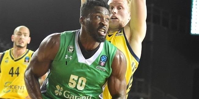 Micheal Eric, Darussafaka: 'We have to put our hearts out there'