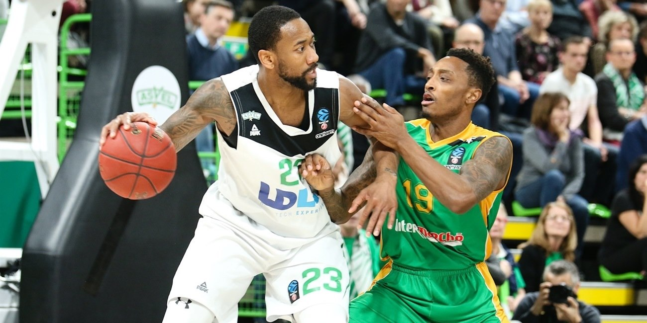 David Lighty - ASVEL Villeurbanne (photo ASVEL - infinity Nine Media - Arthur Viguier) - EC17