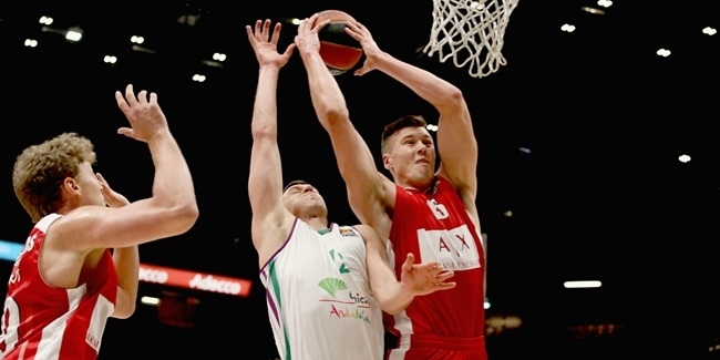 RS Round 18: AX Armani Exchange Olimpia Milan vs. Unicaja Malaga