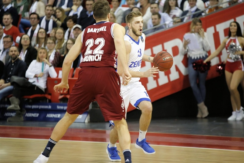 Artem Vikhrov - Zenit St Petersburg (photo FCBB) - EC17