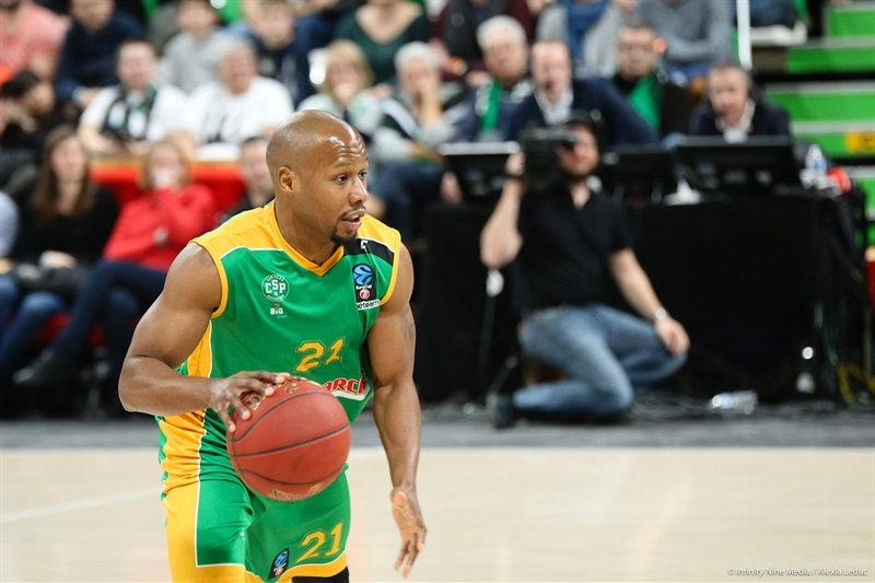 Danny Gibson - Limoges CSP (photo ASVEL - infinity Nine Media - Arthur Viguier) - EC17