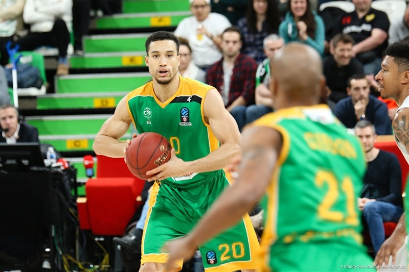Jean-Frederic Morency - Limoges CSP (photo ASVEL - infinity Nine Media - Arthur Viguier) - EC17