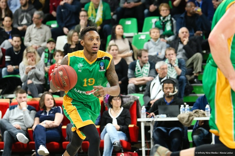 Kenny Hayes - Limoges CSP (photo ASVEL - infinity Nine Media - Arthur Viguier) - EC17