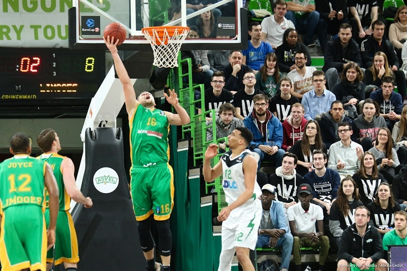 Tautvydas Lydeka - Limoges CSP (photo ASVEL - infinity Nine Media - Arthur Viguier) - EC17