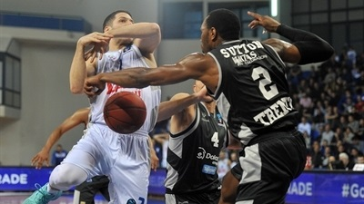 Buducnost races away from Trento, 79-66