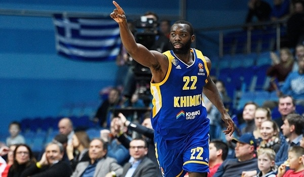 RS Round 19 report: Khimki crushes Olympiacos 82-54 for second win this week