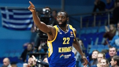 Khimki crushes Olympiacos 82-54 for second win this week