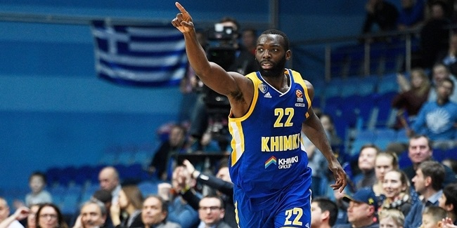 Charles Jenkins, Khimki: 'Defense. It's just a pride thing.'