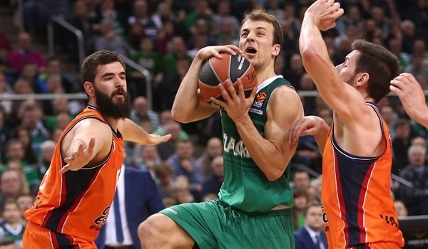 RS Round 19 report: Zalgiris fights off Valencia's rally for home win
