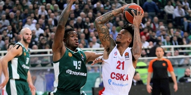 RS Round 19: Panathinaikos Superfoods Athens vs. CSKA Moscow