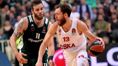 Rodriguez , CSKA hand Panathinaikos its first home loss