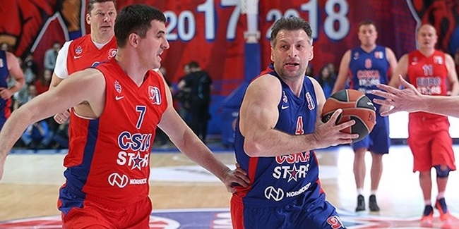 CSKA's Gomelsky tribute draws greats from across Europe