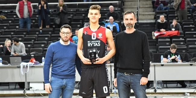 MVP Sirvydis of Rytas headlines All-Tournament team