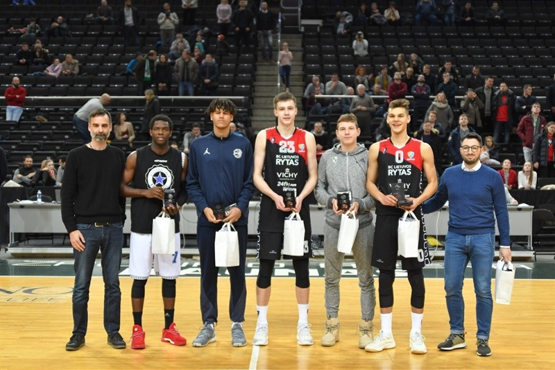 All-Tourmament team, ANGT Kaunas 2018 - JT17