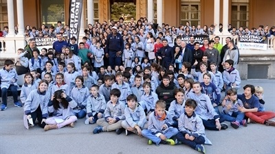 Spanish schools tip off season with Euroleague Basketball as partner
