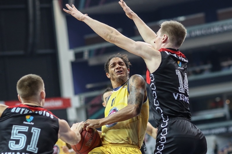 Deron Washington - Fiat Turin (photo Rytas) - EC17