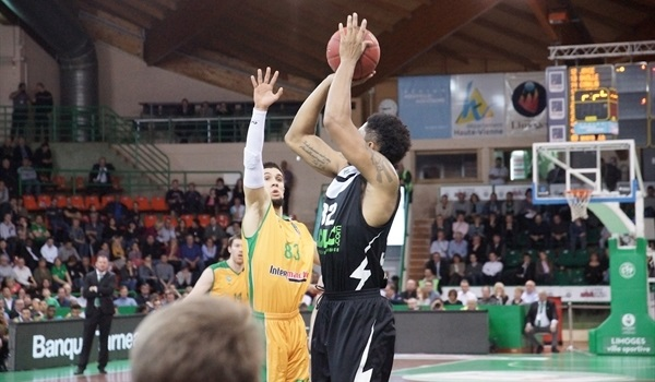 Top 16, Round 4:  Harper's shooting helps ASVEL KO Limoges