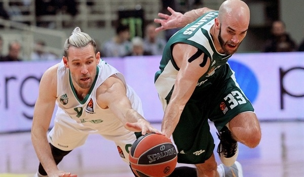 RS Round 20 report: Calathes carries Greens over Zalgiris on OT buzzer-beater