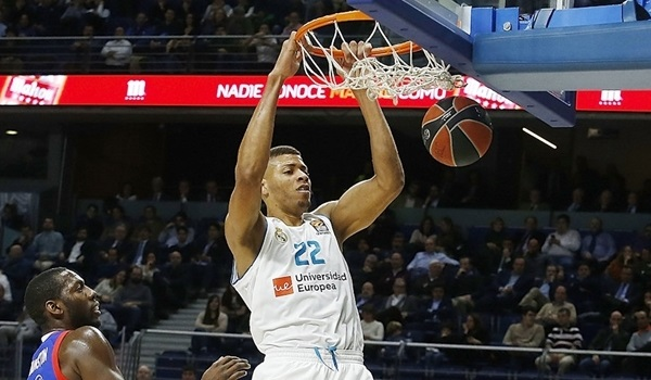 RS Round 20 report: Tavares shines, Madrid eases past Efes