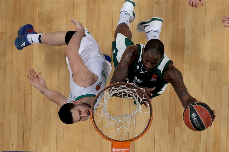 James Gist - Panathinaikos Superfoods Athens - EB17