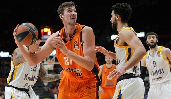 RS Round 20 report: Valencia fights off Khimki's challenge