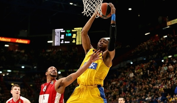 RS Round 20 report: Maccabi scores 111, wins in Milan