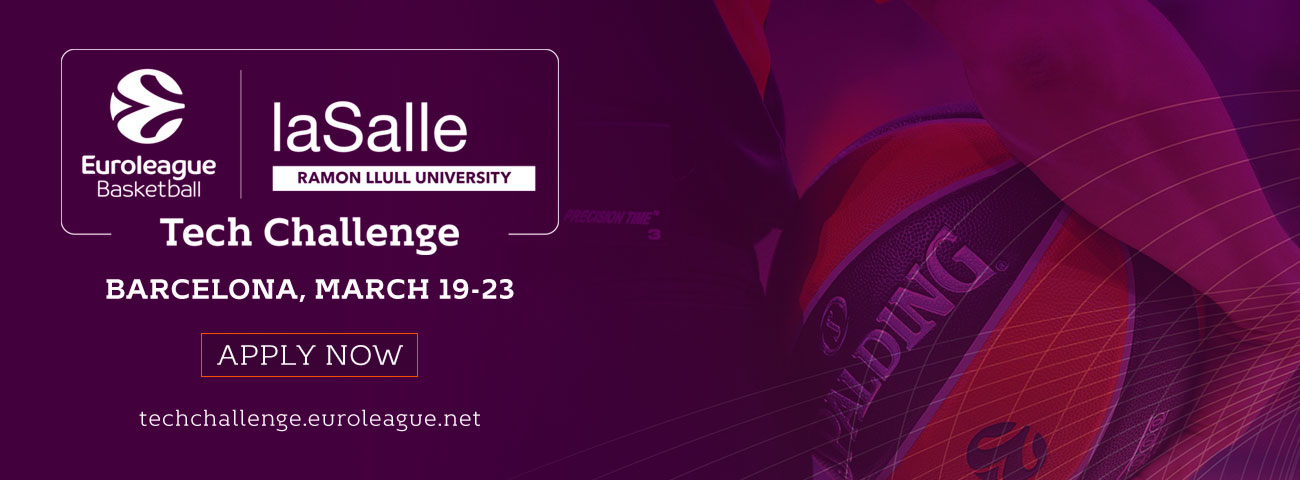 Euroleague Basketball and University of La Salle-URL partner to launch startup tech challenge