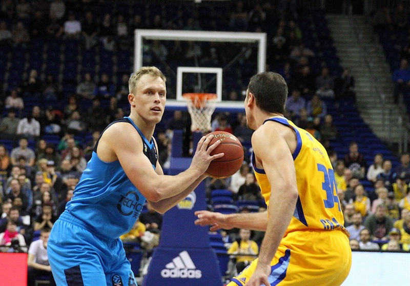 Luke Sikma - ALBA Berlin (photo ALBA - Andreas Knopf) - EC17