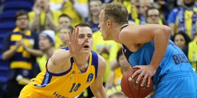 7DAYS EuroCup, Top 16, Round 5: ALBA Berlin vs. Herbalife Gran Canaria