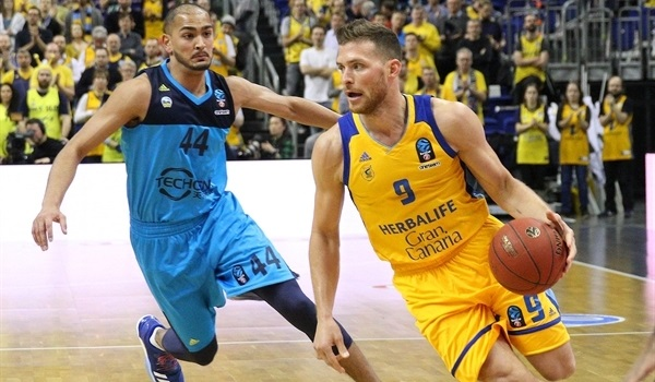 Top 16, Round 5: Gran Canaria wins in Berlin to claim quarterfinals berth